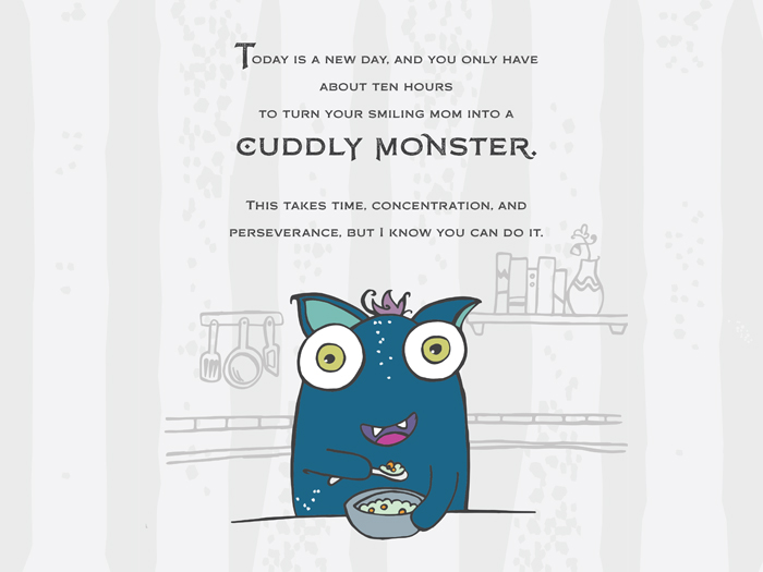 How to Turn Your Mom Into a Monster by author and illustrator Aurora Whittet #monstertude Children's Picture Books. Monster Books.